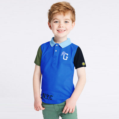 brandsego - GAP Half Sleeve P.Q Polo Shirt For Kids-BE8526