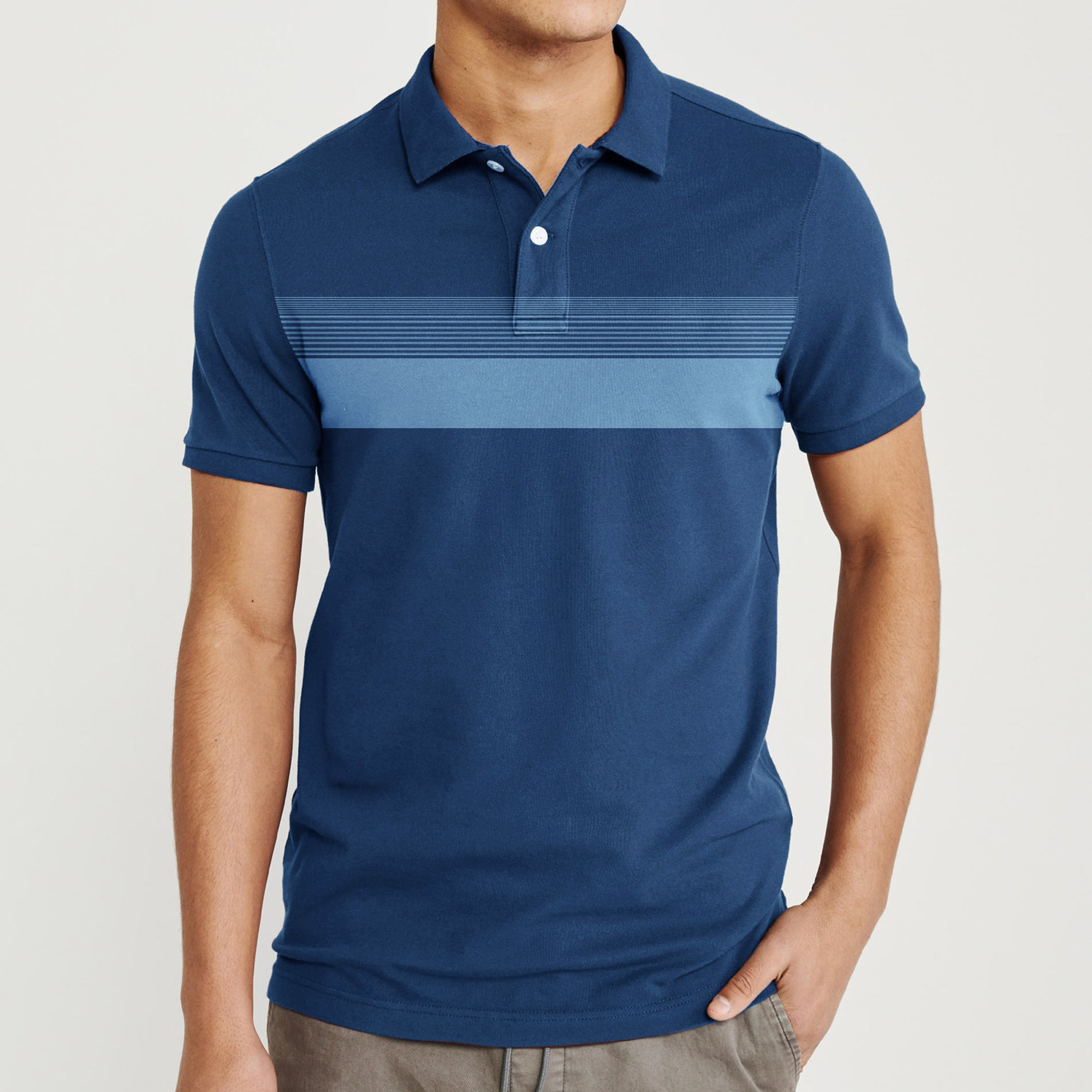 GAP Short Sleeve Single Jersey Polo Shirt For Men-BE8413