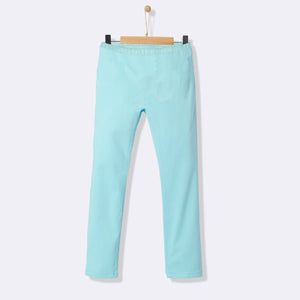 Kids Soft Sleeping Trouser-Sky Blue-NA1044