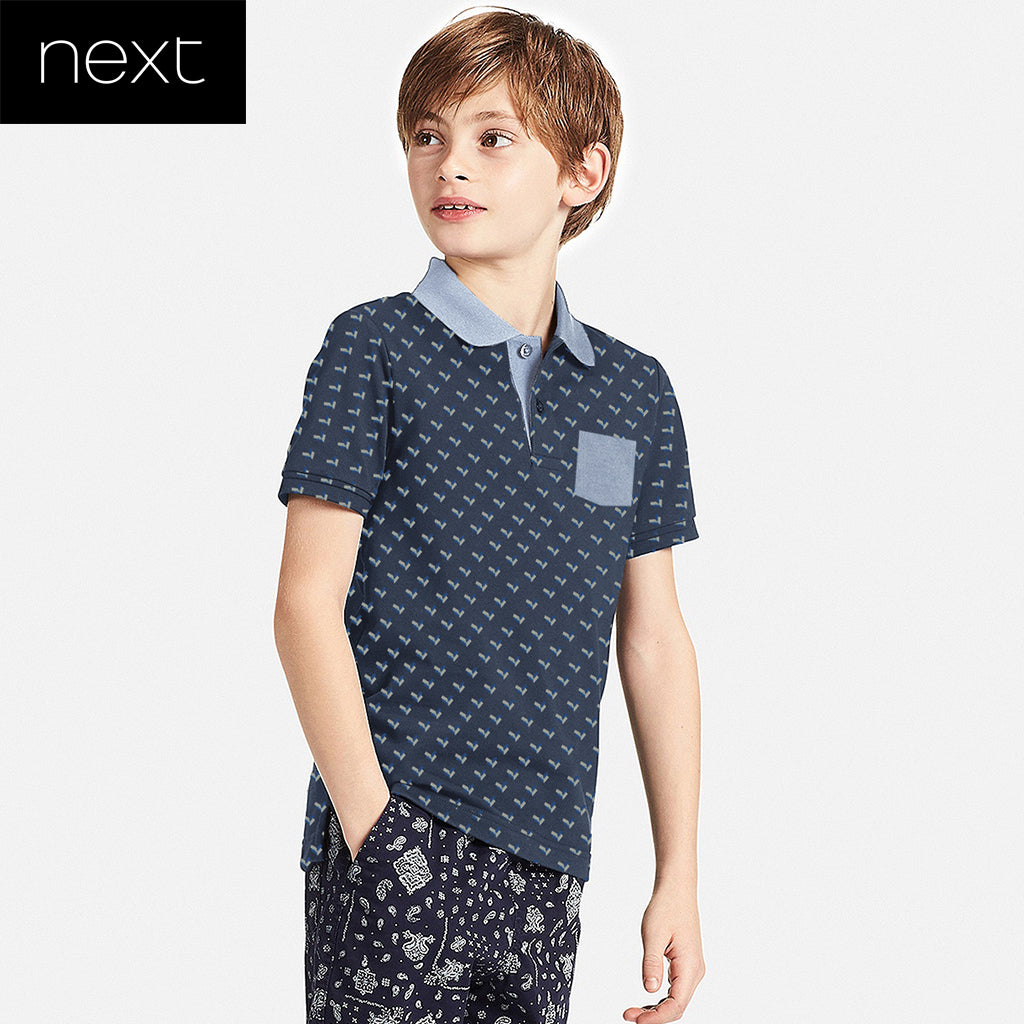 Next Polo Shirt For Kid-All Over Printed-NHTFK02