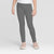 Guess Stylish Legging For Girls-Dark Grey Melange-BE12343