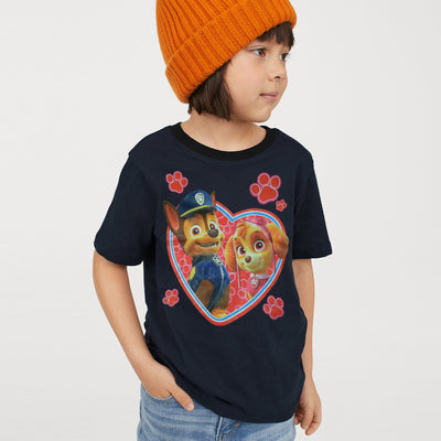 brandsego - H&M Crew Neck Single Jersey T Shirt For Kids-BE8304