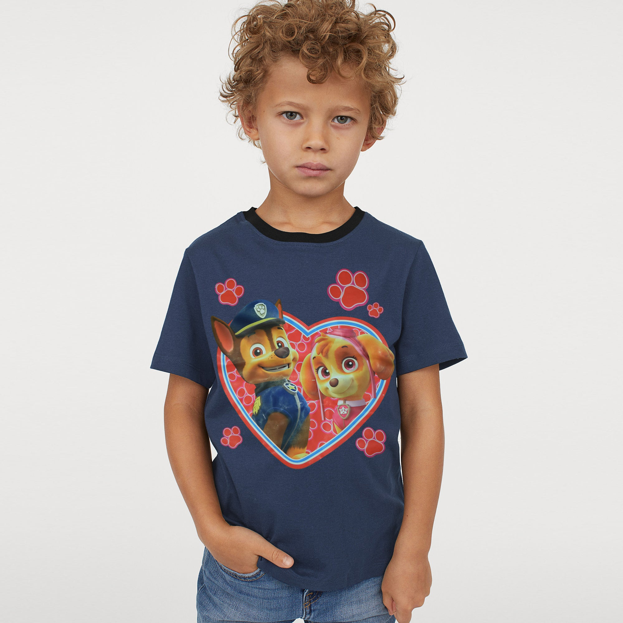 H&M Crew Neck Single Jersey T Shirt For Kids-BE8304