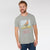Henry James Single Jersey Tee Shirt For Men-Grey Melange-BE5881