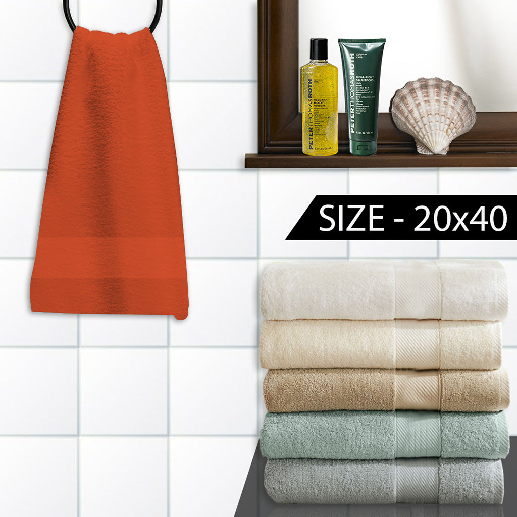"Bath Towel (20x40) Exclusive ""JZ"" Cotton -626"
