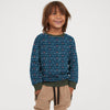 Tommy Hilfiger Terry Fleece Crew Neck Sweatshirt For Kids-Allover Print-SP819