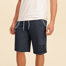 NEXT Fleece Short For Boys-Dark Navy Melange-BE2814