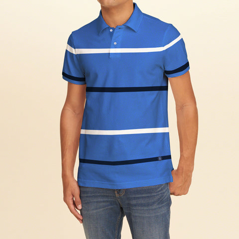 NEXT  Polo for Men Cut Label -Striped-BE2147