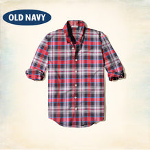 Old Navy Exclusive Casual Shirt-Red Check-ONCS09