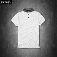 George Polo Shirt For Kid Cut Label-White-PSK08
