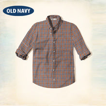 Old Navy Exclusive Casual Shirt-Brown & Black Check-ONCS02