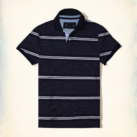 NEXT Polo Shirt For Men Cut Label-Striped-BE693