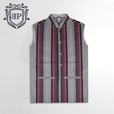 Manto Lining Waistcoat WC004 By BUSHIRT PATLOON