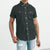 Payper Wear Button Down Half Sleeve Casual Shirt For Men-Dark Cyan Green-NA5007
