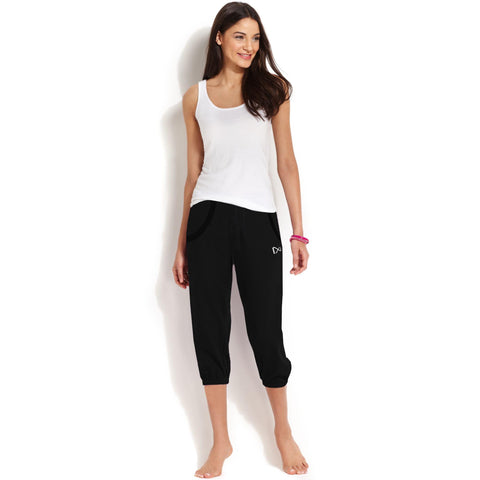 George Terry Fleece Capri For Ladies -Black- BE947