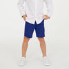 Ift Boy Terry Fleece Short For Boys-Royal Blue-BE7078