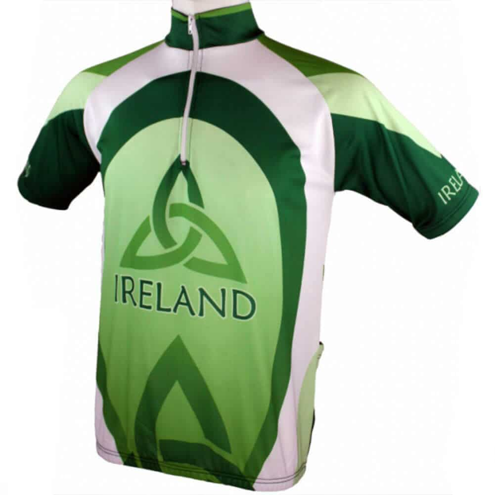 4742091ce99 Ireland Cycling Sport Wear Tee Shirt For Boy-Green Print-BE7959 ...