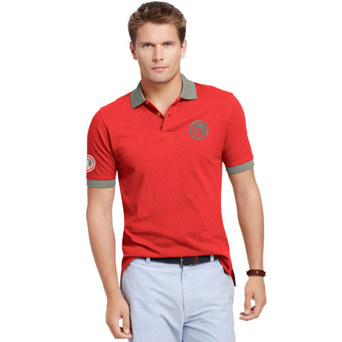 BR Polo Shirt For Men-Orange-BE2257
