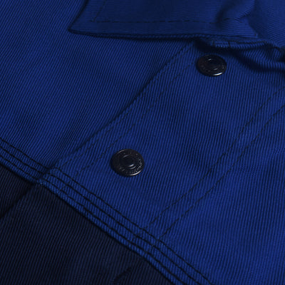 J.A.K Stylish Jacket For Men-Dark Navy with Blue-BE7409