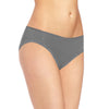 Jack & Jill Cotton Bikini For Ladies-Grey-BE5164