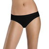 Jack & Jill Cotton Bikini For Ladies-Black-BE5163