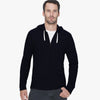 NEXT Thermal Zipper Hoodie For Men-Dark Navy-NA313