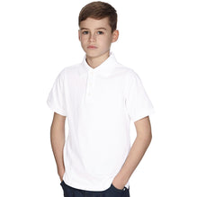 K 12 Gear Polo Shirt For Kids-White-BE2263
