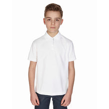 B&G Polo Shirt For Kids-White -BE550