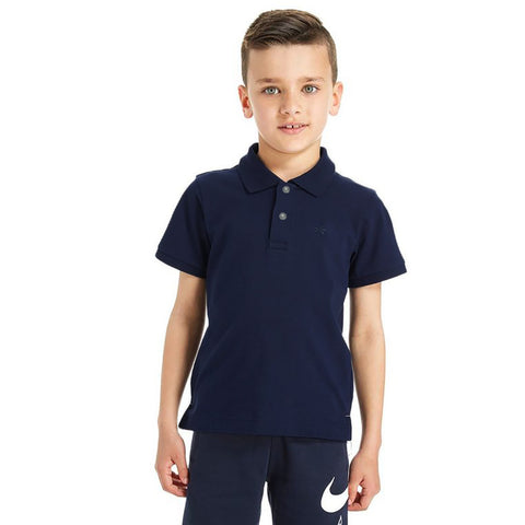 Free Style Polo Shirt For Boys-Dark Navy-BE2275