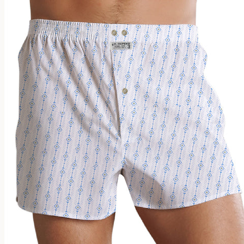 "Men's ""EA RKPEKO"" Cotton Boxer Short-Chek-BE736"