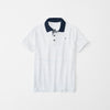 brandsego - Gap Half Sleeve Single Jersey Polo Shirt For Kids-White-NA8292