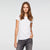 brandsego - Knight Wear Single Jersey Crew Neck Tee Shirt For Women-White-BE9675