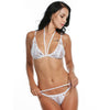 Ladies Lace Bra Set Underwear Suit Nightwear-White-AN268