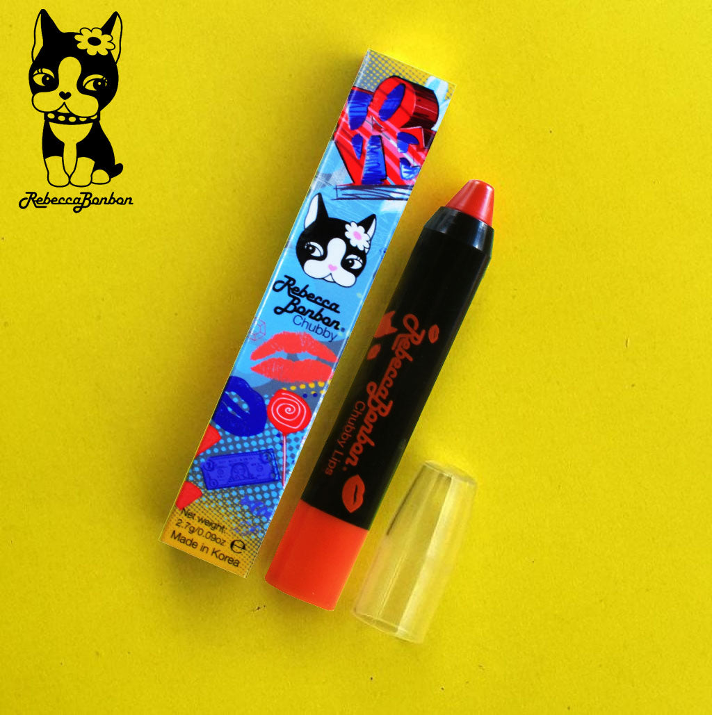 Rebecca Bonbon's Unique Chubby Crayon Lips Stick-Manhattan-NA10375