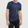 Levis Crew Neck Single Jersey Tee Shirt For Men-Navy Faded-BE8667