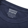 Levis Crew Neck Single Jersey Tee Shirt For Men-Navy Faded-BE8672