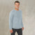 M&S Crew Neck Long Sleeve Shirt For Men-Light Sky-BE5788
