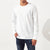 M&S Crew Neck Long Sleeve Shirt For Men-Off White-BE6157