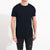 M&S Crew Neck Tee Shirt For Men-Dark Navy Melange-BE5885