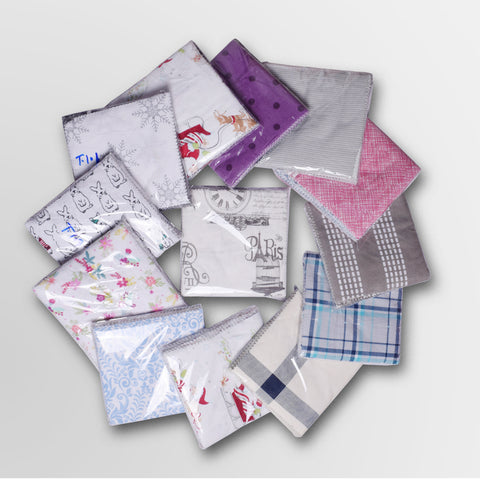 Pack of 50 Cotton Soft Printed Tissues Asorted - T101