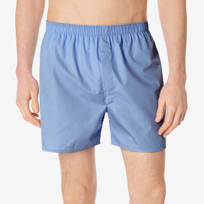 Billy Cotton Boxer Short For Men-Light Sky-BE5796