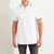 MEXT P.Q Zipper Polo Shirt For Men-White-BE5677