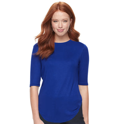 brandsego - Miss Popular Viscose Crew Bottom Top For Women-BE9707