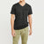 brandsego - Mitre V Neck Half Sleeve Tee Shirt For Men-BE8198