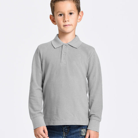 DMB Polo Shirt For Kid-Gray-BE2281