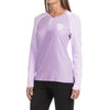 brandsego - ARIS Full Sleeve Henley Ladies Blouse-Light Pruple-BE673