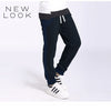 New Look Single Jersey Jogger Trouser For Kids-Dark Navy & Dark Slate Blue-NA1201