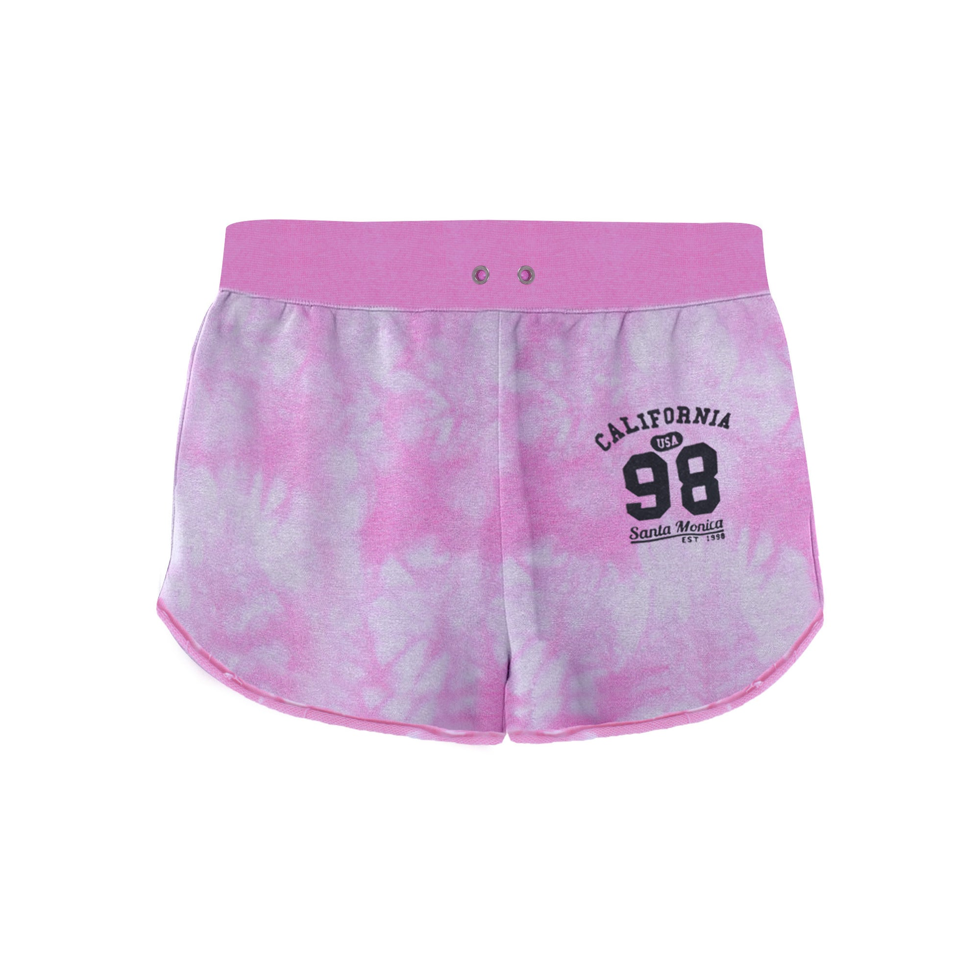 brandsego - New Look Terry Fleece Short For Girls-Allover Print-BE7092