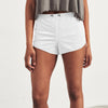 New Look Terry Short For Ladies-White-SP055