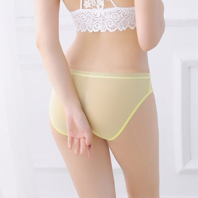New Stylish Viscose Bikini For Ladies-Light Yellow-AN131